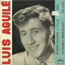 Discos de vinilo: LUIS AGUILES EP SELLO ODEON AÑO 1963. Lote 41347486
