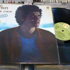 Discos de vinilo: LUCIO BATTISTI SENTIR AMOR EN ESPAÑOL LP DISCO DE VINILO . Lote 41350174