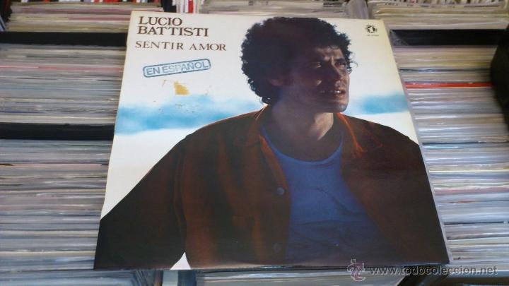 Discos de vinilo: Lucio Battisti Sentir amor En español lp disco de vinilo - Foto 2 - 41350174