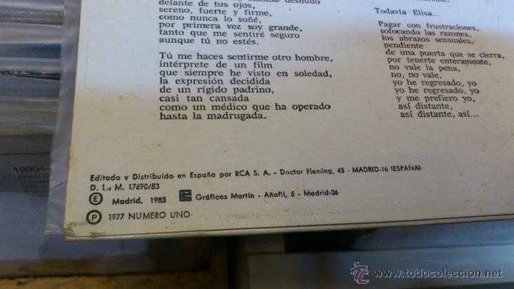 Discos de vinilo: Lucio Battisti Sentir amor En español lp disco de vinilo - Foto 6 - 41350174