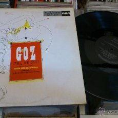 Discos de vinilo: CONRAD GOZZO AND HIS ORCHESTRA GOZ THE GREAT LP DISCO DE VINILO RCA VICTOR NL 45659. Lote 41350344