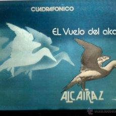 Discos de vinilo: LP ALCATRAZ : EL VUELO DEL ALCATRAZ ( CUADROFONICO ) . Lote 41354345
