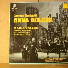 Discos de vinilo: MARIA CALLAS - GAETANO DONIZETTI: ANNA BOLENA - REPLICA ARPL 32493 - 1981 - 3XLP BOX. Lote 41358567