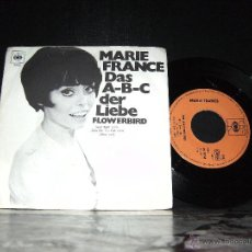 Discos de vinilo: MARIE FRANCE: DAS A-B-C DER LIEBE. Lote 41362256
