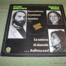Discos de vinilo: PABLO GUERRERO VAINICA DOBLE LP. Lote 41364653