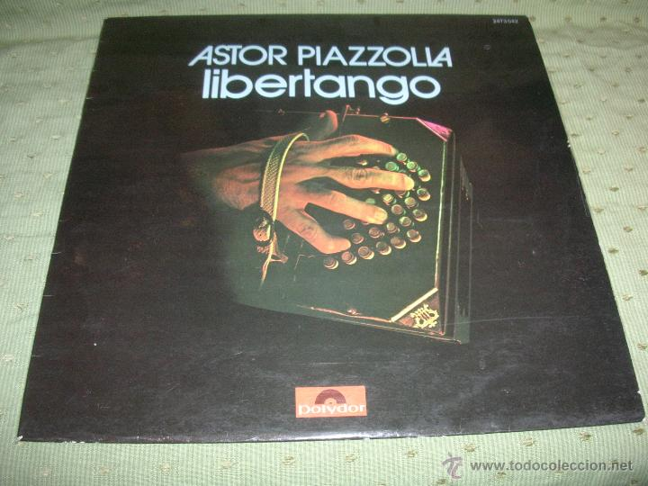 Astor piazzolla libertango france 1974 lp - Sold through Direct Sale