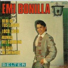 Discos de vinilo: EMI BONILLA EP SELLO BELTER AÑO 1969. Lote 41367661