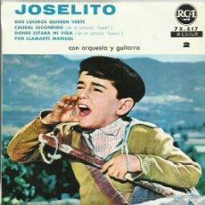 Discos de vinilo: JOSELITO EP SELLO RCA VICTOR EDITADO EN FRANCIA . Lote 41369751
