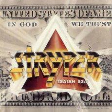 Discos de vinilo: STRYPER - IN GOD WE TRUST (1988) EDICION CANADA, CON BILLETE/LETRAS. Lote 41374615