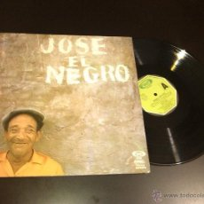 Discos de vinilo: JOSE NEGRO - ROMANCES Y OTROS CANTES - LP !! VER FOTO ADICIONAL !!. Lote 262241120