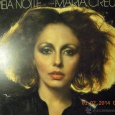 Discos de vinilo: UXV MARIA CREUZA 1977 LP MEIA NOITE MUSICA POPULAR BRASILEÑA RCA VICTOR 1100014 BRASIL. Lote 41380970