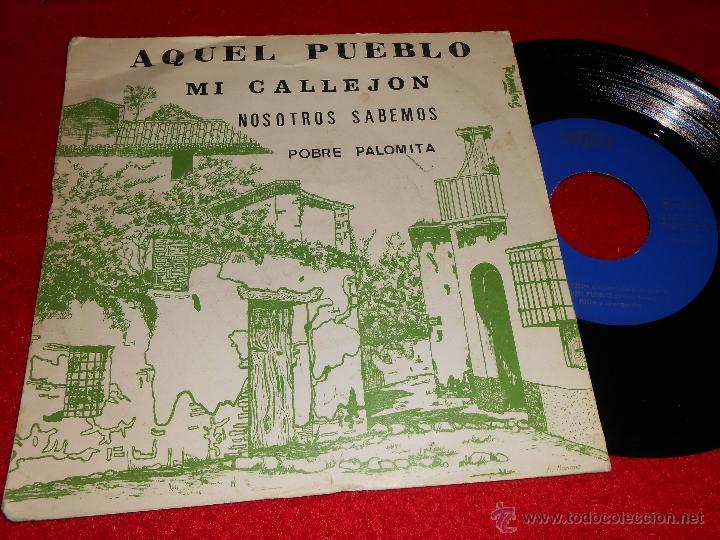 JULIA Y SU ORQUESTA AQUEL PUEBLO/MI CALLEJON +2 EP 1976 SANDIEGO PROMO (Música - Discos de Vinilo - EPs - Grupos Españoles de los 70 y 80)