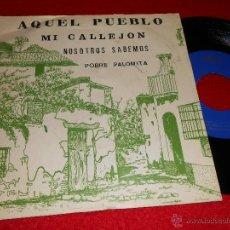 Discos de vinilo: JULIA Y SU ORQUESTA AQUEL PUEBLO/MI CALLEJON +2 EP 1976 SANDIEGO PROMO. Lote 41382176