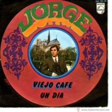 Discos de vinilo: JORGE VIEJO CAFE. Lote 41384303
