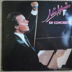 Discos de vinilo: JJ - JULIO IGLESIAS EN CONCIERTO DOBLE LP AÑO 1983 DOBLE PORTADA. Lote 41385428