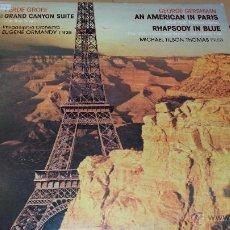 Discos de vinilo: GEORGE GERSHWIN - AN AMERICAN IN PARIS. Lote 41386981