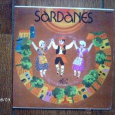 Discos de vinilo: COBLA DE BARCELONA - SARDANES POUR DANSER - LORETO + SANTA PAU. Lote 41387798