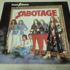Discos de vinilo: BLACK SABBATH - SABOTAGE 1º975- GERMANY LP VERTIGO. Lote 57715546
