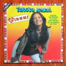 Discos de vinilo: TERESA RABAL - YO QUIERO A TERESA - LP. Lote 263250615