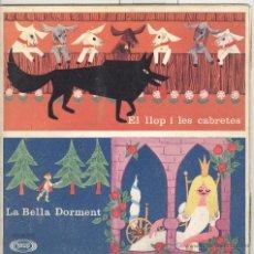 Discos de vinilo: EL LLOP I LES CABRETES. LA BELLA DORMENT. SONOPLAY 1966.. Lote 41393828