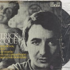Discos de vinilo: PATRICK JACQUÉ. EDIGSA 1968. EP. Lote 41393868