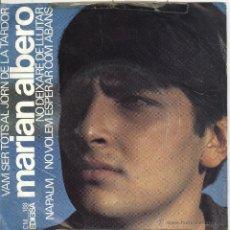 Discos de vinilo: MARIAN ALBERO. NAPALM. NO DEIXARÉ DE LLUITAR. EDIGSA 1967. EP. . Lote 41393876