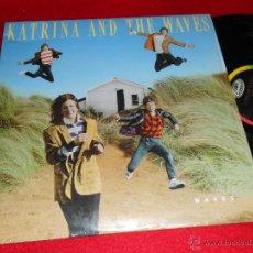 Discos de vinilo: KATRINA AND THE WAVES WAVES LP 1986 CAPITOL EDICION USA AMERICANA. Lote 41394506
