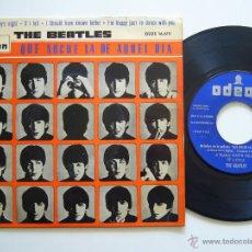 Discos de vinilo: THE BEATLES. E.P. QUE NOCHE LA DE AQUEL DIA. EDICIÓN ESPAÑOLA 1964. Lote 41398073