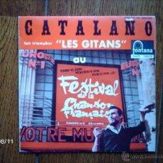 Discos de vinilo: JUAN CATALAÑO - LES GITANS + 3. Lote 41398883