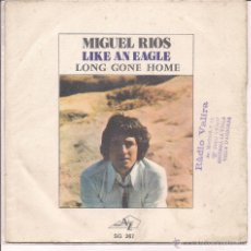 Discos de vinilo: MIGUEL RIOS LIKE AN EAGLES. DISC AZ EDICION FRANCESA. Lote 41399082