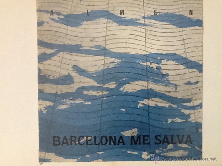 ALMEN - BARCELONA ME SALVA LP (Música - Discos - LP Vinilo - Grupos Españoles de los 70 y 80)