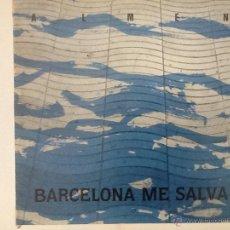 Discos de vinilo: ALMEN - BARCELONA ME SALVA LP. Lote 41399238