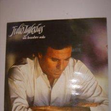 Discos de vinilo: LP. JULIO IGLESIAS. UN HOMBRE SOLO/LO MEJOR DE TU VIDA...CBS. 1987. Lote 147371805