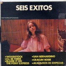 Discos de vinilo: 6 EXITOS - SAMPLER DEL SELLO FIDIAS (EP ESPAÑOL 1970) - TEMAS EN PORTADA. Lote 106559614
