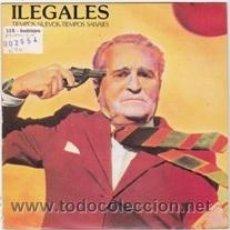 Discos de vinilo: ILEGALES TIEMPOS NUEVOS,TIEMPOS SALVAJES (S.F.A. 1984). Lote 41417478