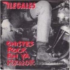 Discos de vinilo: ILEGALES CHISTES ROCK EN YA MENOR (HISPAVOX 1990). Lote 41417640