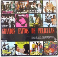 Discos de vinilo: GRANDES EXITOS DE PELICULAS PALOBAL Nº 4 CANCION BEATLES YELLOW SUBMARINE DIBUJO EN PORTADA. Lote 41420676