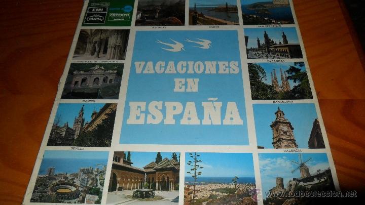 VACACIONES EN ESPAÑA , LP 1970, CON LOS BELAK, LOS JAVALOYAS, GRUPO 15, LOS DIABLOS .... (Música - Discos - LP Vinilo - Grupos Españoles de los 70 y 80)
