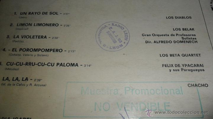 Discos de vinilo: VACACIONES EN ESPAÑA , LP 1970, CON LOS BELAK, LOS JAVALOYAS, GRUPO 15, LOS DIABLOS .... - Foto 2 - 41424429