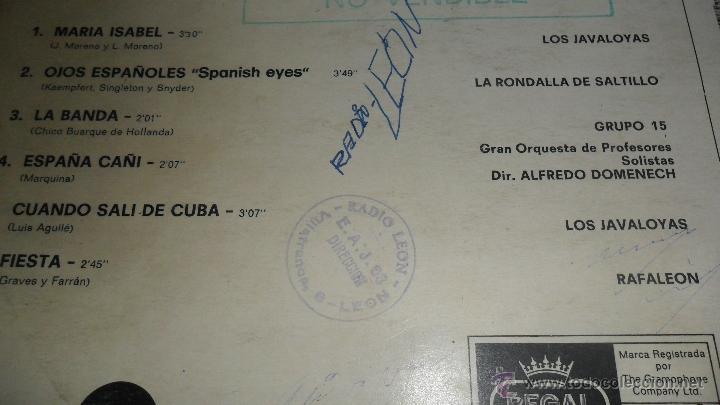 Discos de vinilo: VACACIONES EN ESPAÑA , LP 1970, CON LOS BELAK, LOS JAVALOYAS, GRUPO 15, LOS DIABLOS .... - Foto 3 - 41424429