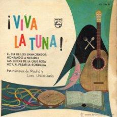 Discos de vinilo: ESTUDIANTINA DE MADRID, EP, EL DIA DE LOS ENAMORADOS + 3, AÑO 1960. Lote 41427418