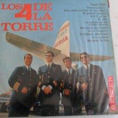 Discos de vinilo: LOS 4 DE LA TORRE - 1966. Lote 41435538