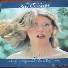 Discos de vinilo: RAY CONNIFF - EL MUNDO DE RAY CONNIFF - 2 LP - GATEFOLD - CBS 1977 SPAIN. Lote 41436328