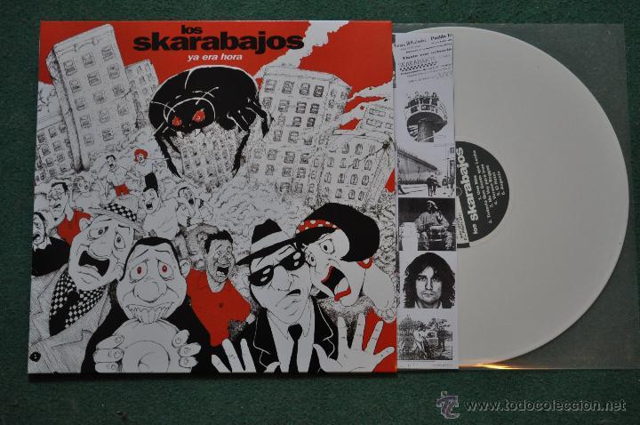 LOS SKARABAJOS - YA ERA HORA L.P. (Música - Discos - LP Vinilo - Reggae - Ska)