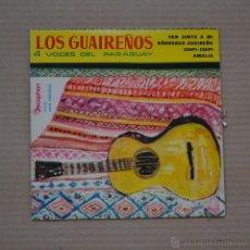 Discos de vinilo: LOS GUAIREÑOS. 4 VOCES DEL PARAGUAY. DISCOPHON 1960.LITERACOMIC.. Lote 41438428