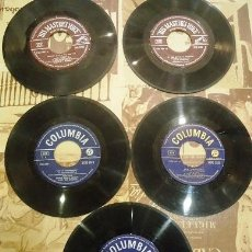Disques de vinyle: LOTE DE 5 SINGLES VARIADOS. Lote 41440121