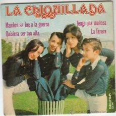 Discos de vinilo: LA CHIQUILLADA, MAMBRÚ SE FUÉ A LA GUERRA Y OTRAS, EDITADO POR BELTER EN 1973. Lote 41441341