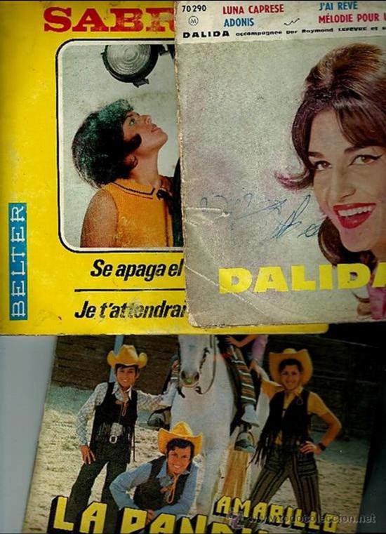 LOTE DE 3 SINGLES AÑOS 70 EP45RPM (Música - Discos - Singles Vinilo - Grupos Españoles de los 70 y 80)