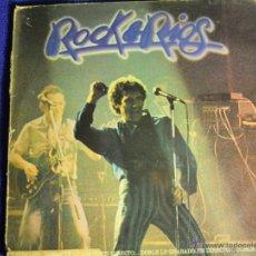 Discos de vinilo: UXV ROCK & RIOS 2 LPS MIGUEL RIOS GRABADO EN DIRECTO 1982 POLYDOR 26 79 090 ROCK ESPAÑOL LATINO. Lote 41445148