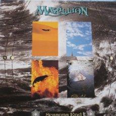 Discos de vinilo: MARILLION,SEASONS END EDICION ESPAÑOLA DEL 89 DOBLE CARPETA. Lote 246042970